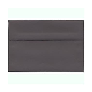 JAM Paper® A8 Invitation Envelopes, 5.5 x 8.125, Dark Grey, 100/Pack (36396435g)