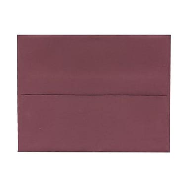 JAM Paper® A2 Invitation Envelopes, 4.38 x 5.75, Burgundy, 100/Pack (36395847g)