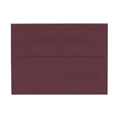 JAM Paper® A6 Invitation Envelopes, 4.75 x 6.5, Burgundy, 1000/Pack (36395843B)