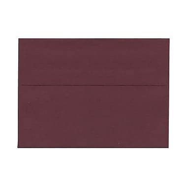 JAM Paper® A7 Invitation Envelopes, 5.25 x 7.25, Burgundy, 100/Pack (36395846g)