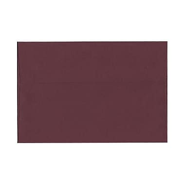 JAM Paper® A8 Invitation Envelopes, 5.5 x 8.125, Burgundy, 100/Pack (36395845g)