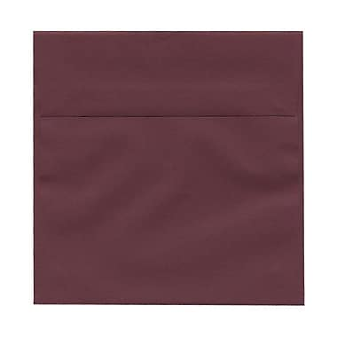 JAM Paper® 6 x 6 Square Envelopes, Burgundy, 100/Pack (36395838g)