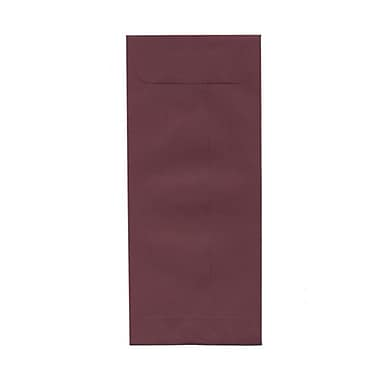 JAM Paper® #10 Policy Envelopes, 4 1/8 x 9.5, Burgundy, 1000/Pack (36396161B)