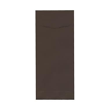 JAM Paper® #10 Policy Envelopes, 4 1/8 x 9.5, Chocolate Brown Recycled, 100/Pack (900940724g)