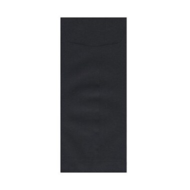 JAM Paper® #11 Policy Envelopes, 4.5 x 10.38, Black Linen Recycled, 1000/Pack (V01219B)