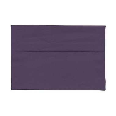 JAM Paper® A8 Invitation Envelopes, 5.5 x 8.125, Dark Purple, 100/Pack (563912510g)