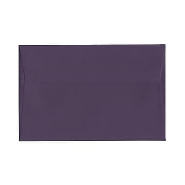 JAM Paper® A9 Invitation Envelopes, 5.75 x 8.75, Dark Purple, 100/Pack (563912512g)