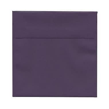 JAM Paper® 6 x 6 Square Envelopes, Dark Purple, 1000/Pack (563912522B)