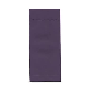 JAM Paper® #10 Policy Envelopes, 4 1/8 x 9.5, Dark Purple, 100/Pack (563912518g)