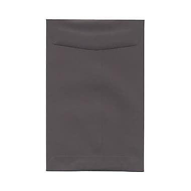 JAM Paper® 6 x 9 Open End Catalog Envelopes, Dark Grey, 100/Pack (51285796)