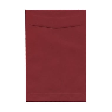 JAM Paper® 6 x 9 Open End Catalog Envelopes, Dark Red, 100/Pack (31287522)