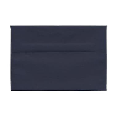 JAM Paper® A8 Invitation Envelopes, 5.5 x 8.125, Navy Blue, 100/Pack (LEBA767g)