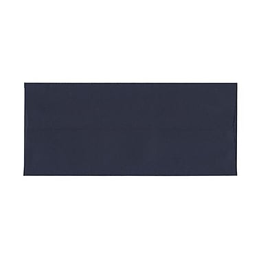 JAM Paper® #10 Business Envelopes, 4 1/8 x 9.5, Navy Blue, 100/Pack (LEBA367g)