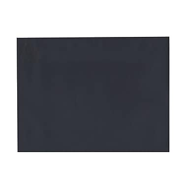 JAM Paper® 9in. x 12in. Texture Booklet Envelopes, Navy Blue, 25/Pack