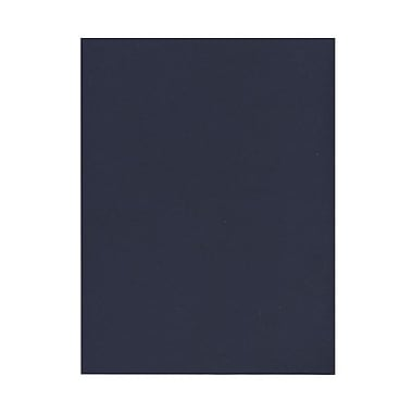 JAM Paper® 8 1/2in. x 11in. Paper, Navy Blue, 50 Sheets/Pack