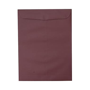 JAM Paper® 10 x 13 Open End Catalog Envelopes, Burgundy, 100/Pack (21285782)