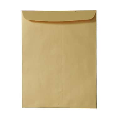 JAM Paper® 10 x 13 Open End Catalog Envelopes, Stardream Metallic Gold, 100/Pack (V018325)