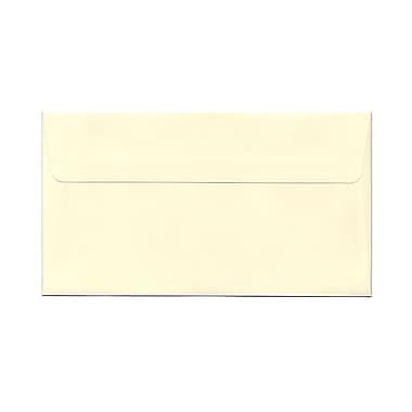 JAM Paper® 4 1/2in. x 8 1/8in. Booklet Envelopes w/Gum Closure, Ivory, 1000/Pack