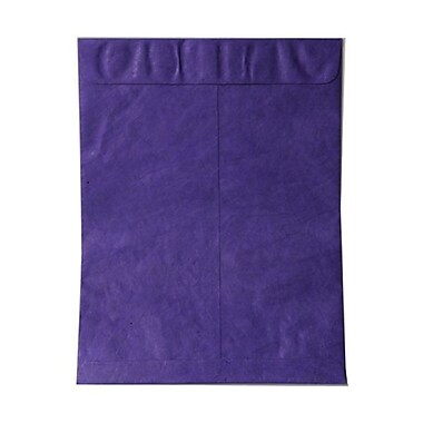 JAM Paper® 10in. x 13in. Smooth Open End Catalog Tyvek Envelopes, Purple, 25/Pack