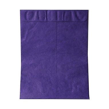 JAM Paper® 10 x 13 Tyvek Envelopes, Catalog Open End with Self Adhesive Closure, Purple, 25/pack (V021382)