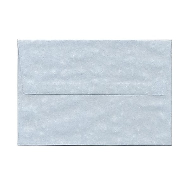 JAM Paper® A8 Invitation Envelopes, 5.5 x 8.125, Parchment Blue Recycled, 1000/Pack (10411B)