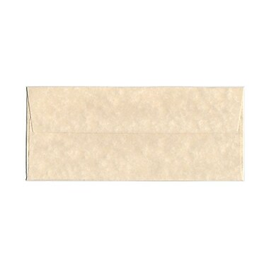 JAM Paper® Booklet Recycled Parchment Envelopes with Gum Closure, 4-1/8