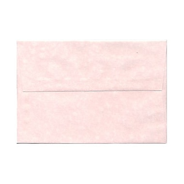 JAM Paper® A8 Invitation Envelopes, 5.5 x 8.125, Parchment Pink Recycled, 100/Pack (63750g)