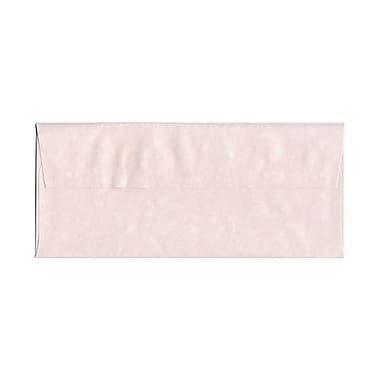 JAM Paper® #10 Business Envelopes, 4 1/8 x 9.5, Parchment Pink Recycled, 100/Pack (v01728g)