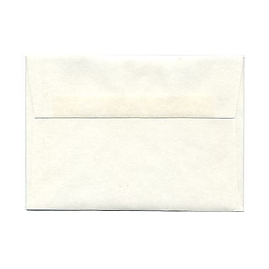 JAM Paper® 4bar A1 Envelopes, 3.63 x 5 1/8, Parchment White Recycled, 100/Pack (900926656g)