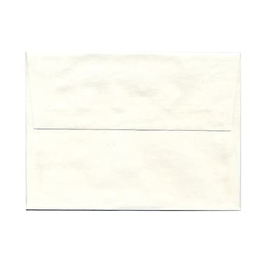 JAM Paper® A6 Invitation Envelopes, 4.75 x 6.5, Parchment White Recycled, 1000/carton (56309B)
