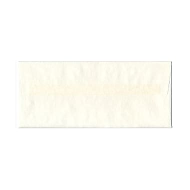 JAM Paper® #10 Business Envelopes, 4 1/8 x 9 1/2, Parchment White Recycled, 1000/carton (900829012B)