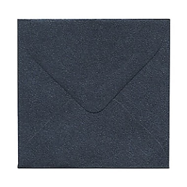 JAM Paper® 3.125 x 3.125 Mini Square Envelopes, Stardream Metallic Anthracite Black, 50/Pack (v018241g)