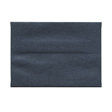 JAM Paper® 4bar A1 Envelopes, 3.63 x 5 1/8, Stardream Metallic Anthracite Black, 50/Pack (v018245g)