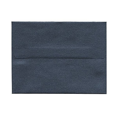 JAM Paper® A2 Invitation Envelopes, 4.38 x 5.75, Stardream Metallic Anthracite Black, 50/Pack (GCST606g)