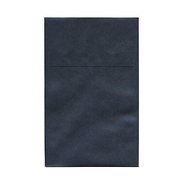 JAM Paper® A10 Policy Envelopes, 6 x 9.5, Stardream Metallic Anthracite Black, 50/Pack (v018305g)