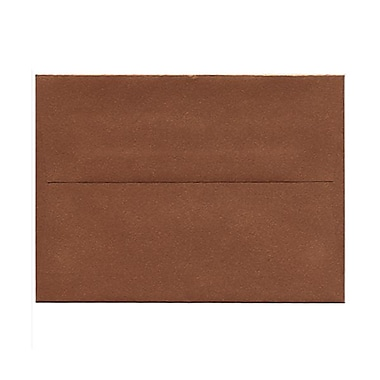 JAM Paper® A6 Invitation Envelopes, 4.75 x 6.5, Stardream Metallic Copper, 50/Pack (GCST651g)