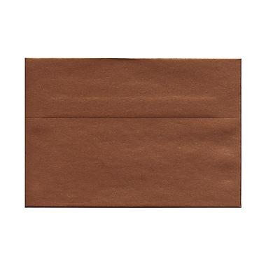JAM PaperMD – Enveloppes métalliques Stardream à fermeture gommée, 5 1/2 x 8 1/8 po, 32 lb, Cuivré, pqt/50