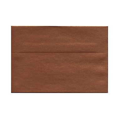 JAM Paper® A8 Invitation Envelopes, 5.5 x 8.125, Stardream Metallic Copper, 50/Pack (9844g)