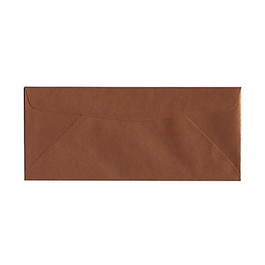 JAM Paper® #10 Business Envelopes, 4 1/8 x 9.5, Stardream Metallic Copper, 50/Pack (v018284g)