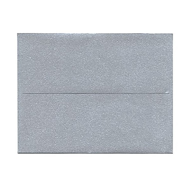 JAM Paper® 4 3/8in. x 5 3/4in. Booklet Stardream Metallic Envelopes w/Gum Closure, Silver, 1000/Pack