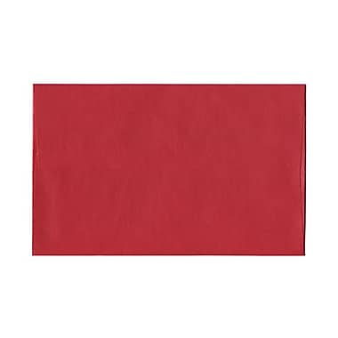 JAM Paper® A10 Invitation Envelopes, 6 x 9.5, Stardream Metallic Jupiter Red, 1000/Pack (22400B)