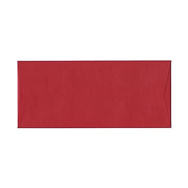 JAM Paper® #10 Business Envelopes, 4 1/8 x 9.5, Stardream Metallic Jupiter Red, 1000/Pack (V018285B)