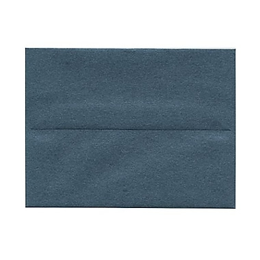 JAM Paper® 4 3/8in. x 5 3/4in. Booklet Stardream Metallic Envelopes w/Gum Closure, Malachite Blue, 1000/Pack