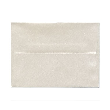 JAM Paper® A6 Invitation Envelopes, 4.75 x 6.5, Stardream Metallic Quartz, 50/Pack (GCST657g)
