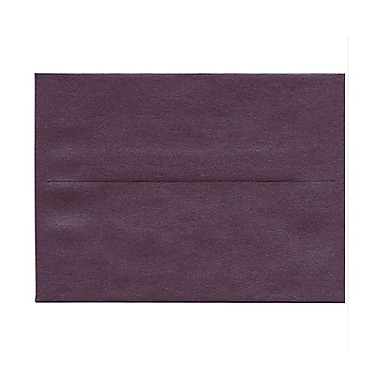 JAM Paper® A6 Invitation Envelopes, 4.75 x 6.5, Stardream Metallic Ruby Purple, 1000/Pack (GCST654B)