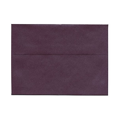JAM Paper® A7 Invitation Envelopes, 5.25 x 7.25, Stardream Metallic Ruby Purple, 50/Pack (GCST704g)