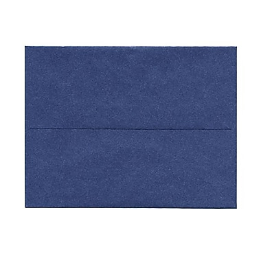JAM Paper® A2 Invitation Envelopes, 4.38 x 5.75, Stardream Metallic Sapphire Blue, 50/Pack (GCST605g)