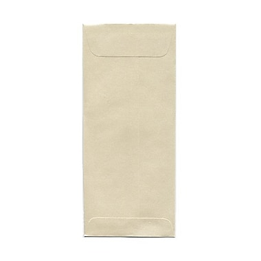 JAM Paper® #10 Policy Envelopes, 4 1/8 x 9 1/2, Stardream Metallic Opal, 1000/carton (V018293B)