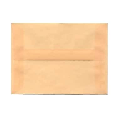 JAM Paper® A6 Invitation Envelopes, 4.75 x 6.5, Spring Ochre Ivory Translucent Vellum, 100/Pack (PACV650g)