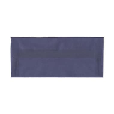 JAM Paper® #10 Business Envelopes, 4 1/8 x 9.5, Wisteria Purple Translucent Vellum, 100/Pack (PACV354g)